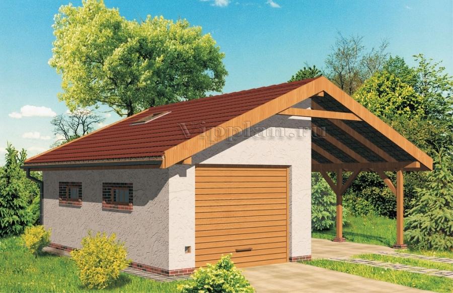 Готовые проекты гаражей из бревна купить смотровую яму для гаража