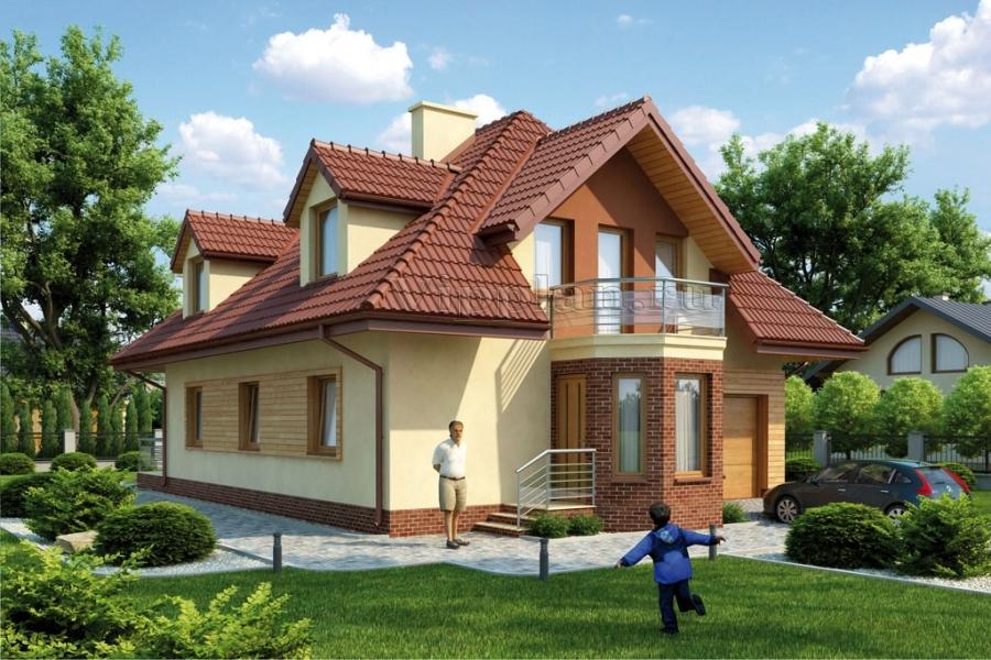 Проекты домов и коттеджей с гаражом в Екатеринбурге | Цены, фото | Ультра Эс